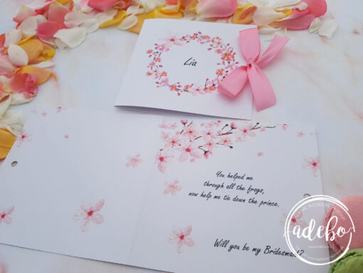Invitatie nunta flori de cires 5