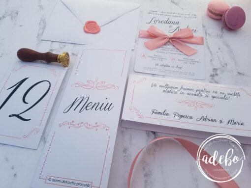 Invitatie nunta Loren 2