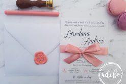 Invitatie nunta Loren