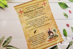 Invitatie nunta Papyrus 2