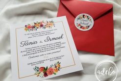 Invitatie nunta Tania