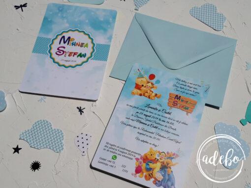 Invitatie botez Winnie the pooh 3