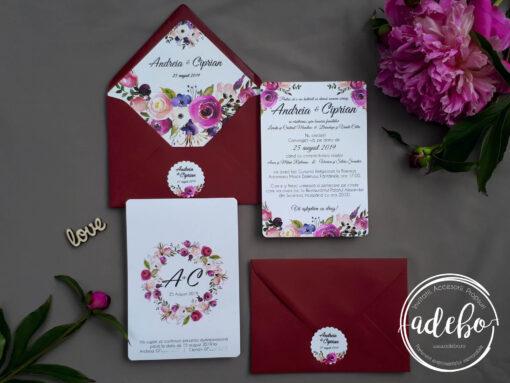 Invitatie nunta Boho 1