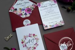 Invitatie nunta Boho 4
