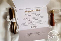 Invitatie nunta Godi 2
