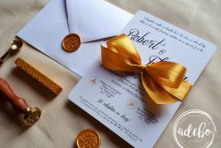 Invitatie nunta Goldy 0