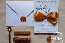Invitatie nunta Goldy 2