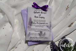 Invitatie nunta Lavender 1