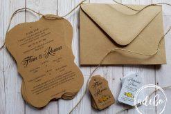 Invitatie nunta rustica 1