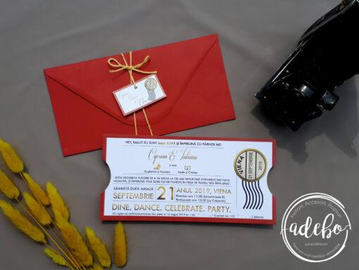 Invitatie nunta Sian 1