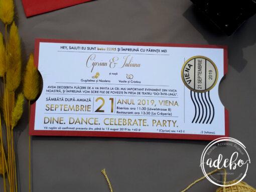 Invitatie nunta Sian 3