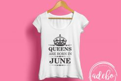 Tricou personalizat - Queens are born