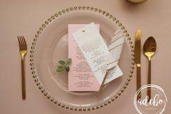 Pachet papetarie nunta Rose Gold