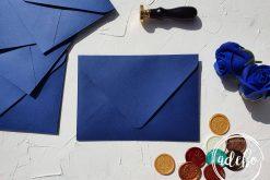Plicuri facute manual - Albastru Royal