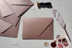 Plicuri facute manual - Rose Gold