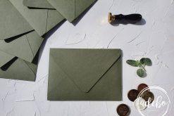 Plicuri facute manual - Verde Olive