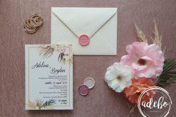 Invitatie nunta Orhideea